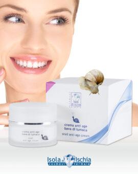 crema viso alla bava di lumaca con acido jaluronico
