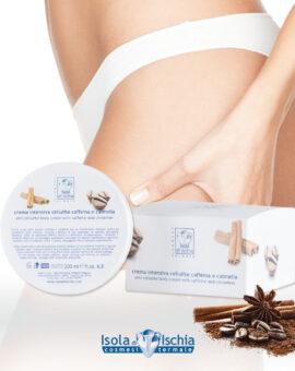crema intensiva anticellutite con caffeina e cannella